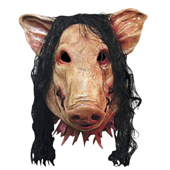 Pig Scary Latex Mask Halloween Party Creepy Cosplay CarnivalMasquerade Costume