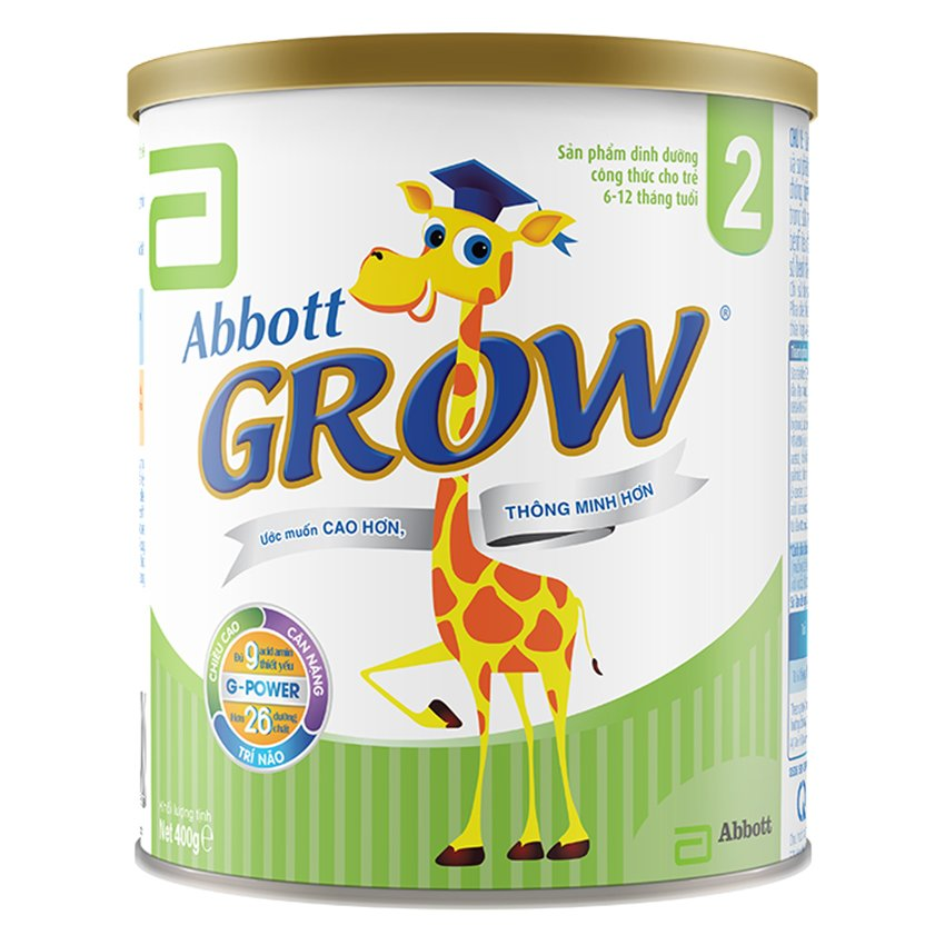 Sữa bột Abbott Grow 2 400g