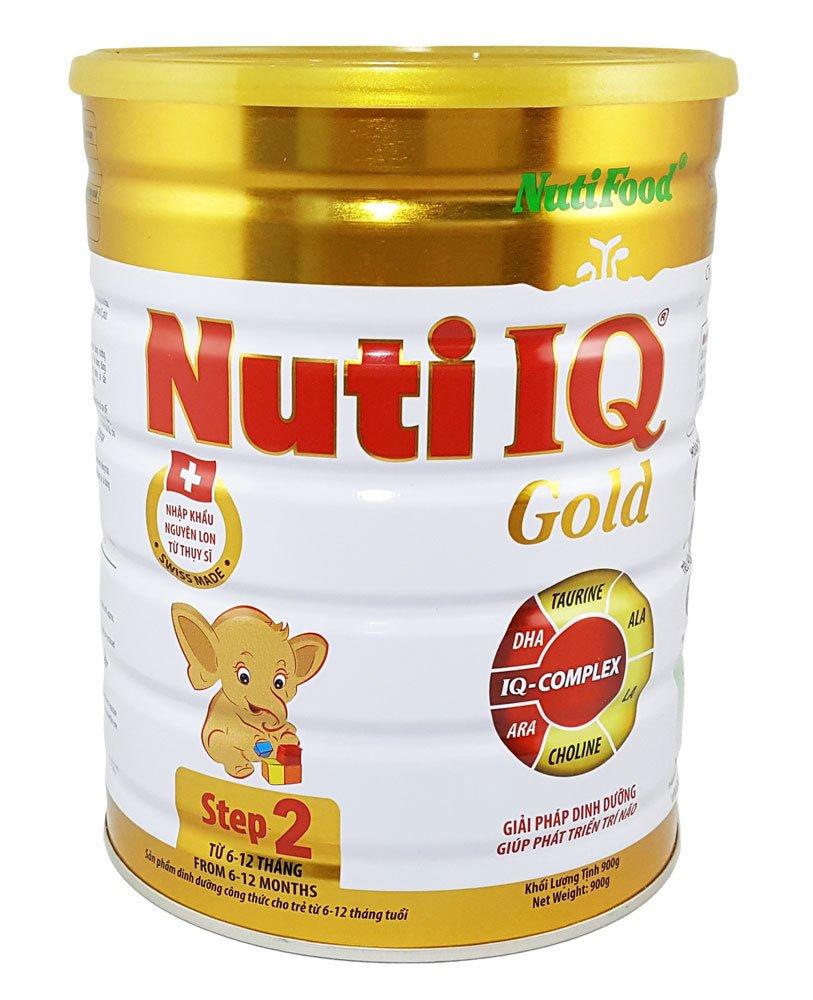 Sữa bột Nutifood Nuti IQ Gold Step 2 900g