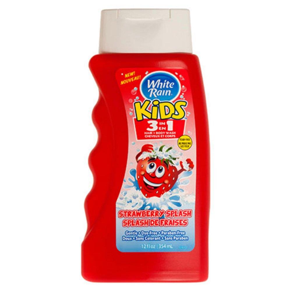 Sữa tắm gội kids 3in1 White Rain Strawberry Splash 354 ml