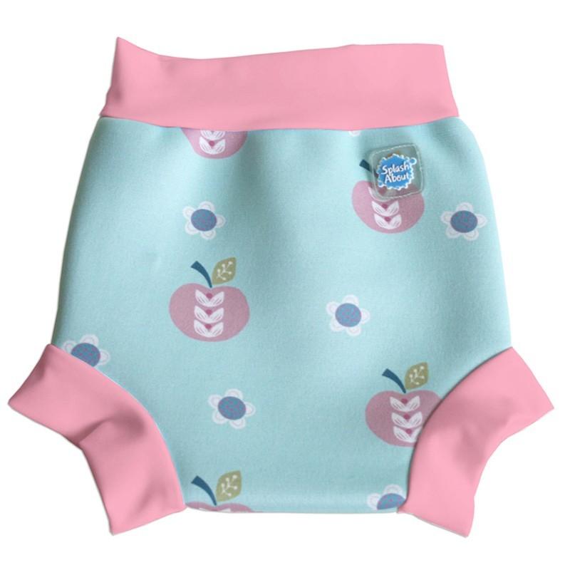 Tã đi bơi 12 - 24 tháng Splash About Happy Nappy Apple Daisy (Xanh)