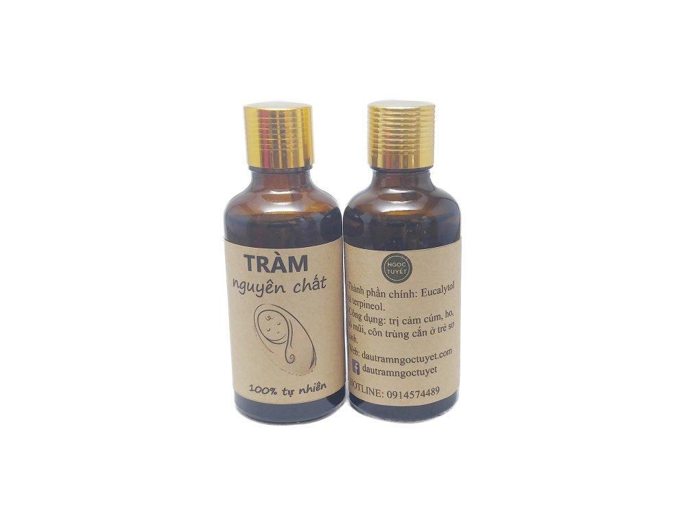 Tinh dầu tràm dùng cho trẻ sơ sinh Ngọc Tuyết 50mlx2