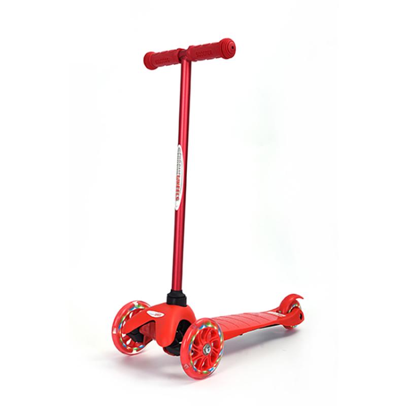 Mua Xe trượt Scooter trẻ em có đèn Chrome Wheels (Đỏ)