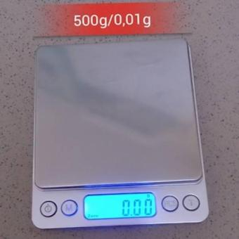 Cân ĐiệN Tử Để Bàn Mini I2000 500g/0-01g