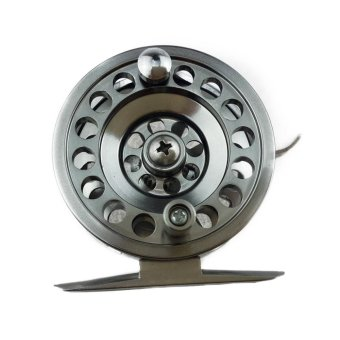 100M Line Capacity All Metal Fishing Reel Right Hand Rocker WithBrake - intl