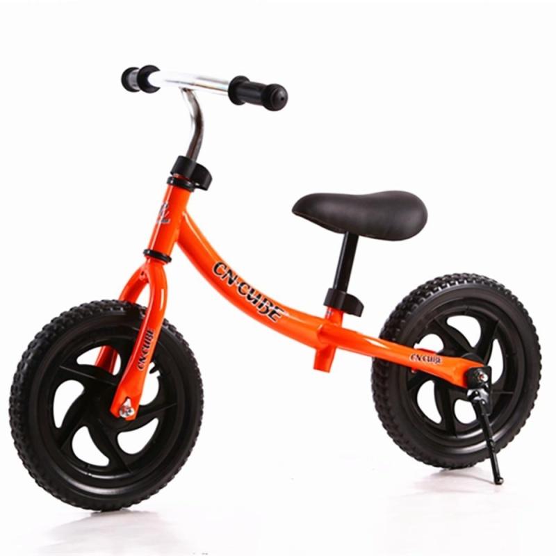 Phân phối 12 Inch Two-wheeled Pushbike Children Balance Training Bike with Adjustable Handlebar and Saddle Color:Orange Size:12 inch - intl