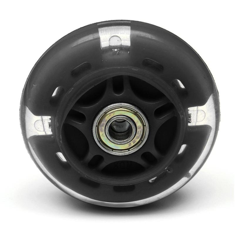 Phân phối 2PCS LED FLASH WHEEL FOR MINI or MAXI MICRO SCOOTER FLASHING LIGHTS 80mm REAR ABEC-7 - intl