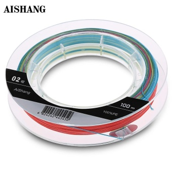 AISHANG 100M PE 8 Strands Monofilament Fishing Line(2) - intl