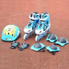 Bộ giầy Patin Aslong ASL 6006 (xanh lam) 38/41