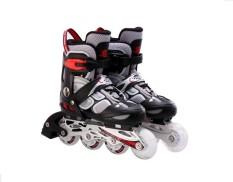 Giầy trượt patin có đèn 835LSG màu ghi GC-0001