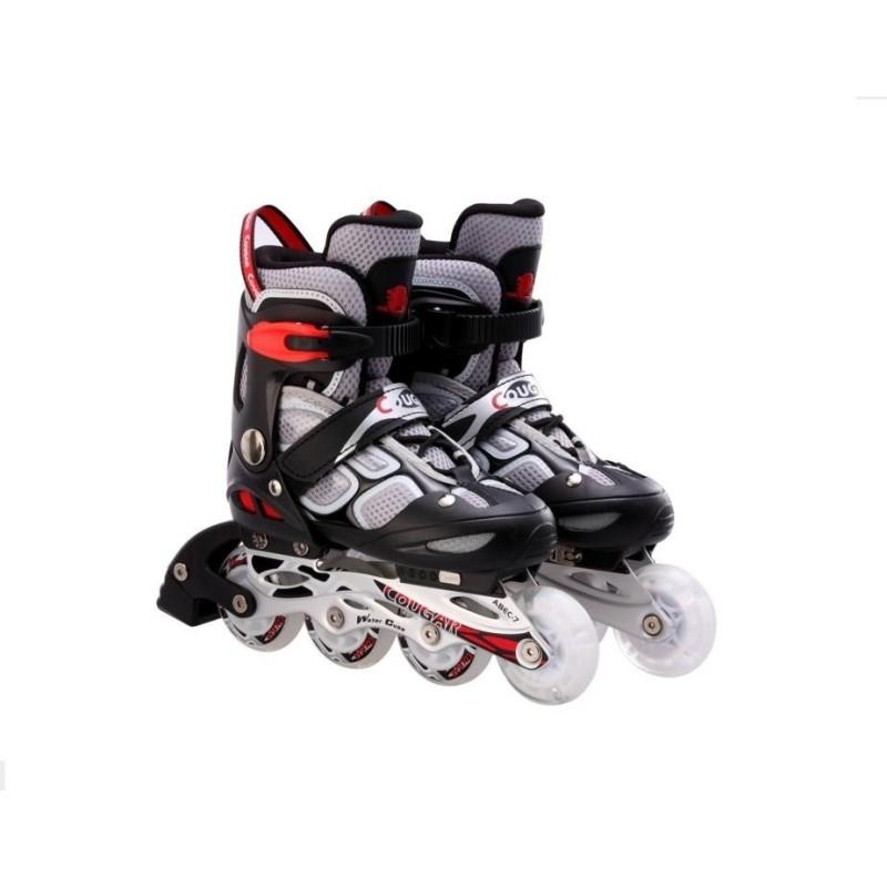 Phân phối Giầy trượt patin có đèn 835LSG màu ghi GC-0001