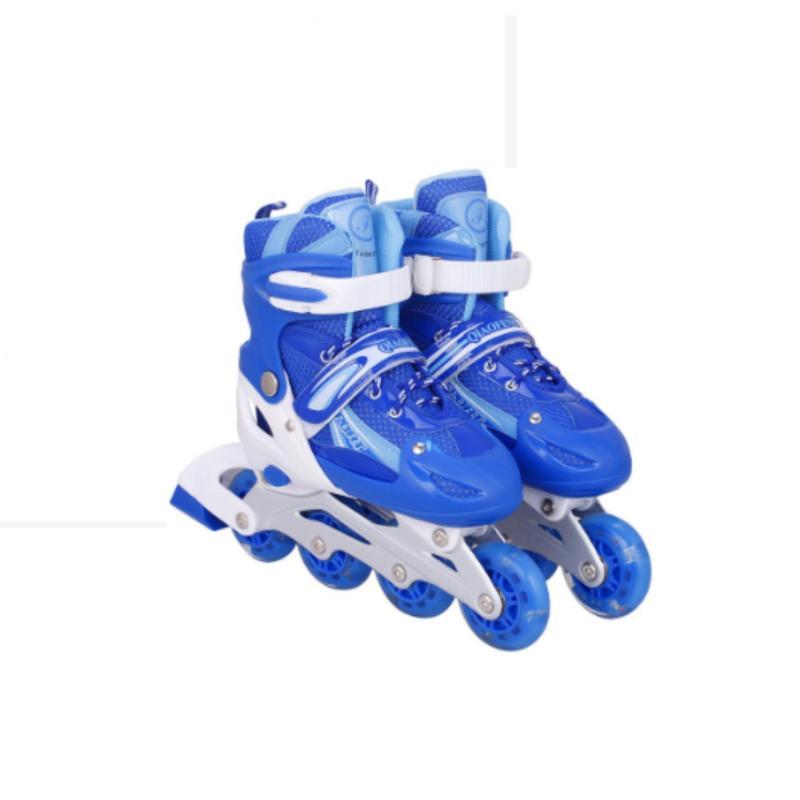 Mua Giày trượt patin đinh tán phát sáng - màu xanh