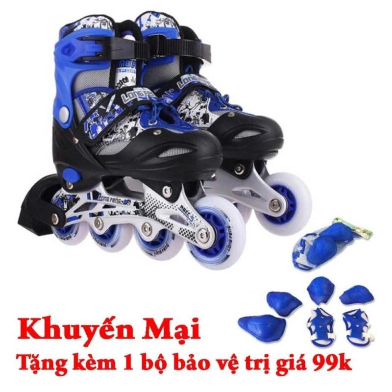 Phân phối Giày trượt patin Long Feng 906 + Tặng bộ bảo vệ đầu gối, tay, chân GC-0001