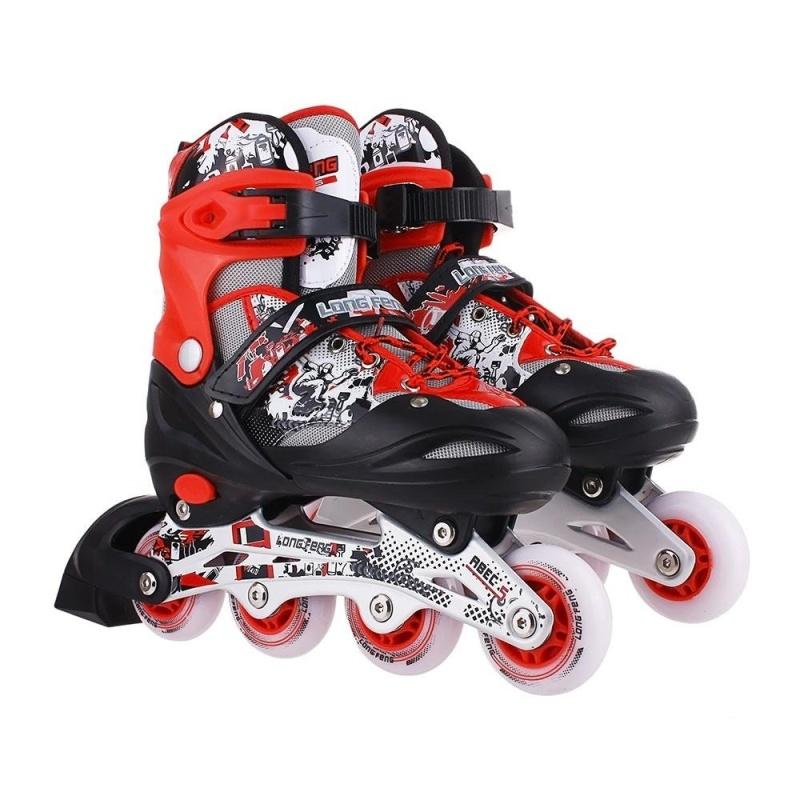 Phân phối Giầy trượt patin longfeng 906 màu đỏ GC-0001