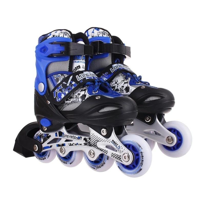 Phân phối Giầy trượt patin longfeng 906 màu xanh GC-0001