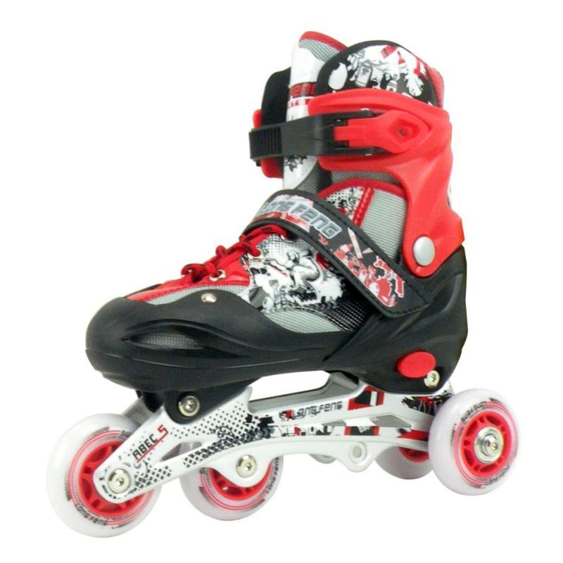 Phân phối Giày Trượt Patin LongFeng 906 New (màu đỏ trắng)