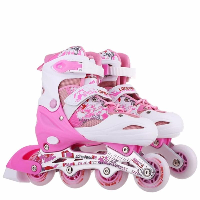Phân phối Giày trượt patin trẻ em Long feng 906 size M (Từ 6-12 tuổi)