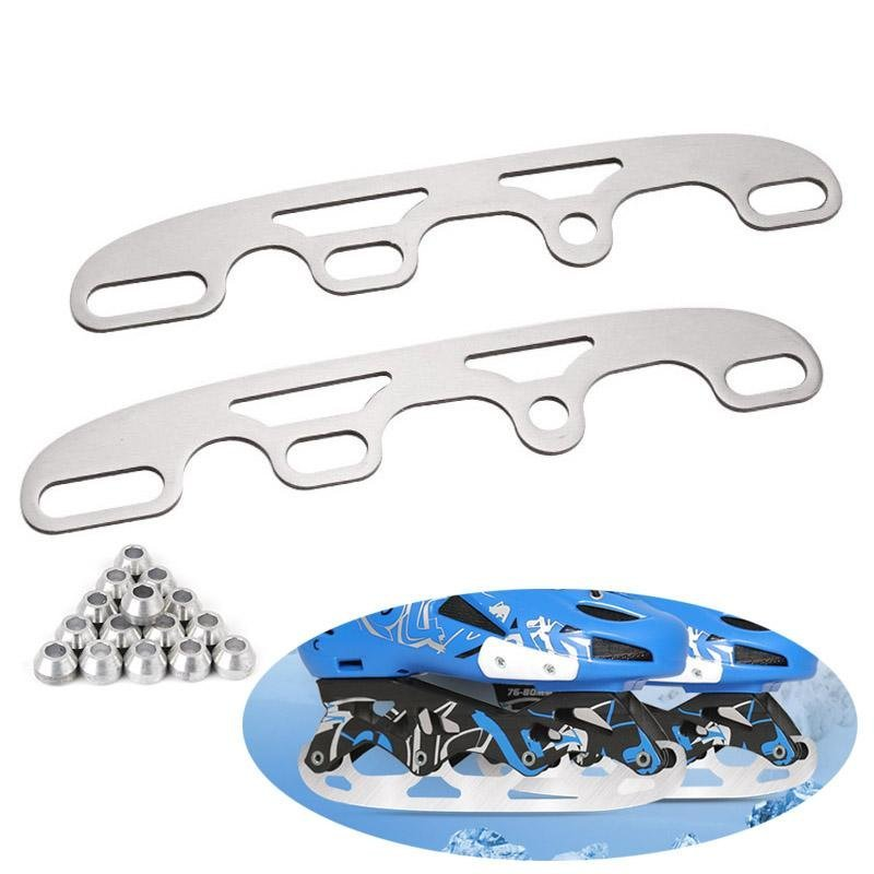 Mua PAlight 1 Pair Roller Ice Skates Blade Shoes Multi Purpose Ball Blade Full Set (Size:S) - intl