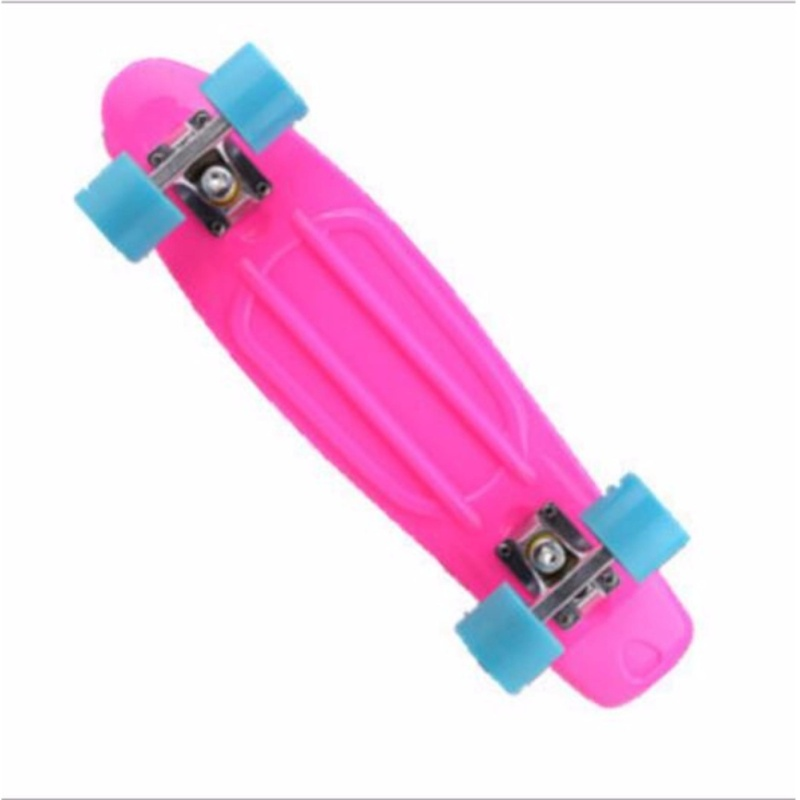 Mua Qizhef22 inch fish plate are single - Four Wheel Scooter Skate Scooter(pink) - intl