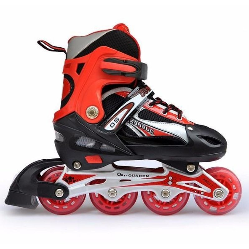 Phân phối Roller skates skating shoes with adjustable aluminum bracket (send two wrenches) - intl