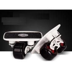 Ván trượt Freeline Langbo có lò xo nhún   + Tặng 1 đôi găng tay lót nỉ siêu cute