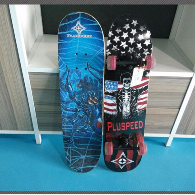 Mua Ván trượt Skateboard cỡ lớn tiêu chuẩn thi đấu (Bánh xe phát sáng)