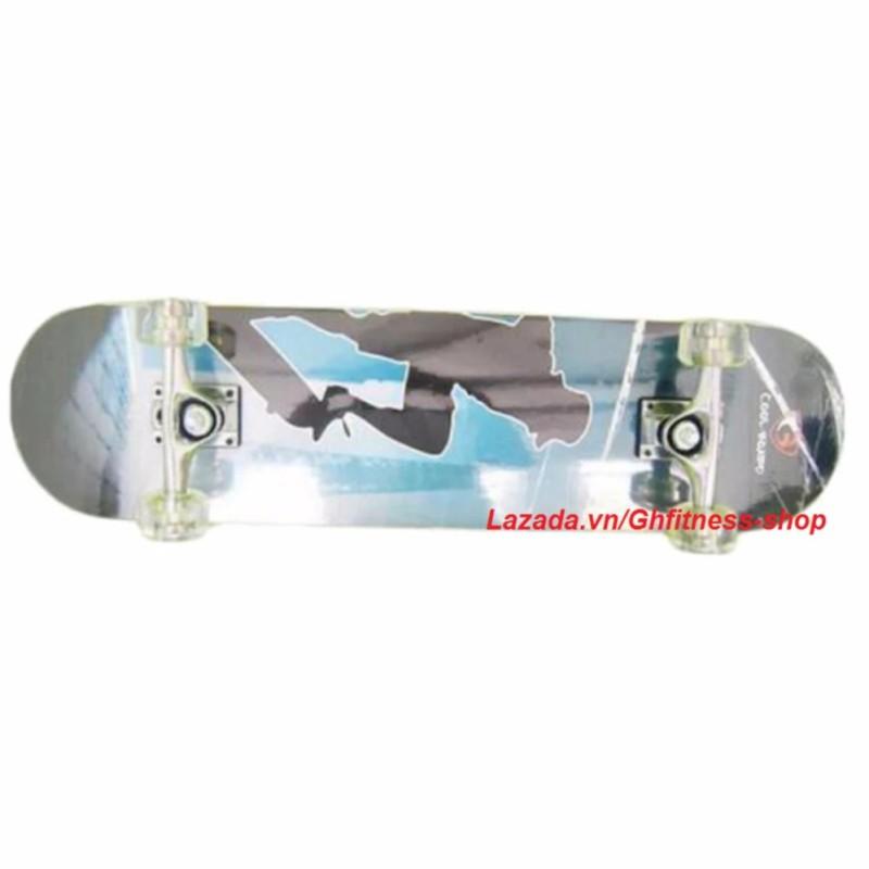 Mua Ván trượt thể thao Skateboard cỡ lớn bánh cao su trong + KAMA