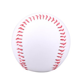 White Practice PVC Softball Baseball Ball For Outdoor SportsTraining - intl