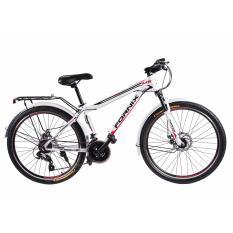 Xe đạp địa hình  FORNIX MS60 (Cam trắng )