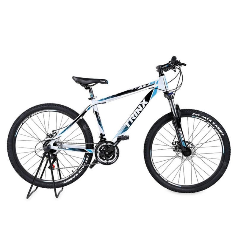 Mua Xe đạp địa hình TrinX TX18 2017 ( Trắng đen xanh dương )