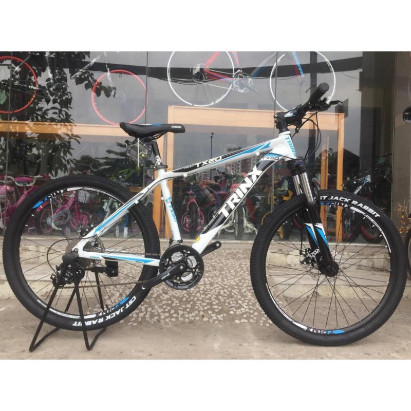 Mua Xe đạp địa hình TrinX TX20 2017 Trắng đen xanh dương