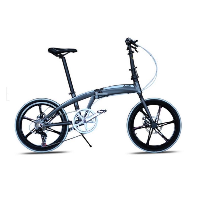 Phân phối Xe đạp gấp Audi Navigate 5 GRY-WHT 7 Speed