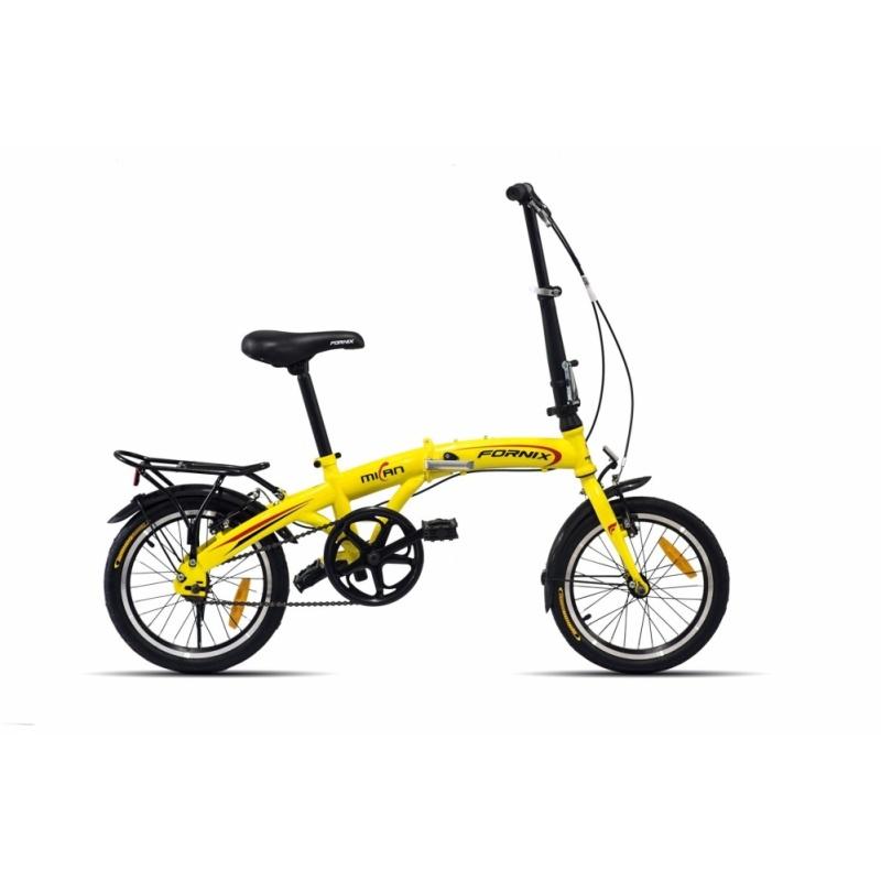 Phân phối Xe đạp gấp hiệu FORNIX, mã MILAN  ( vàng )