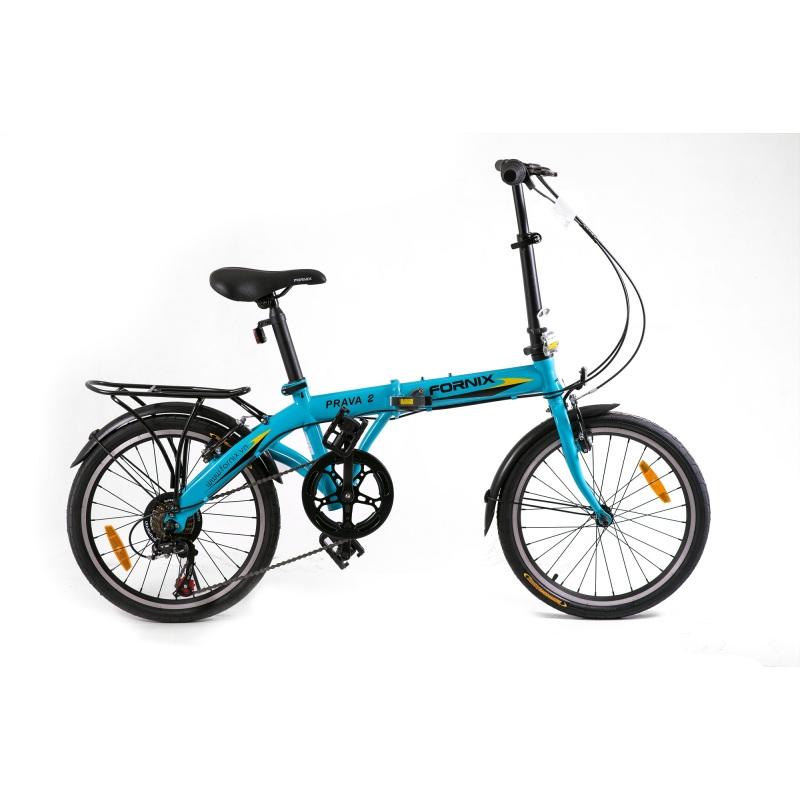 Phân phối Xe đạp gấp hiệu FORNIX, mã PRAVA 2 (xanh dương)
