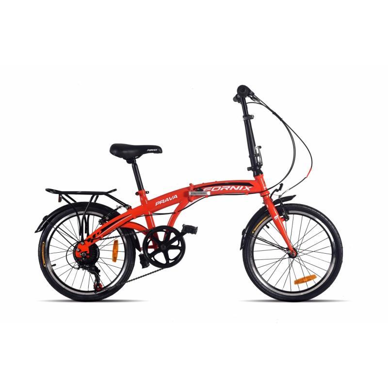 Phân phối Xe đạp gấp hiệu FORNIX, mã PRAVA  (Đỏ)