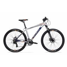 Xe đạp Jett Cycles Atom Sport màu bạc (size: M)