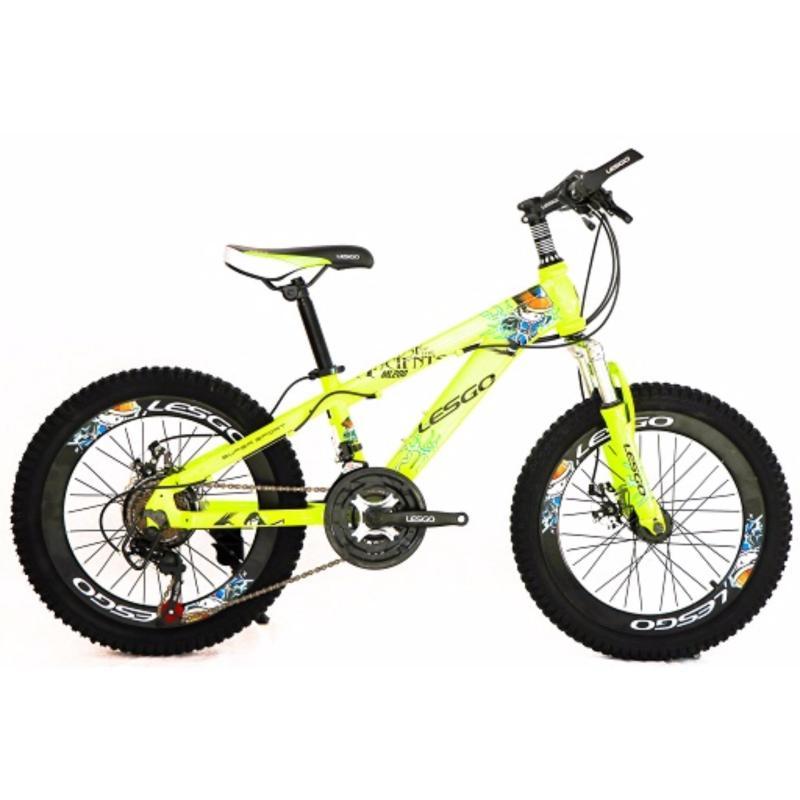 Mua Xe đạp thể thao LESGO 20 - ML200 tặng kèm gác ba ga và lá chắn bùn