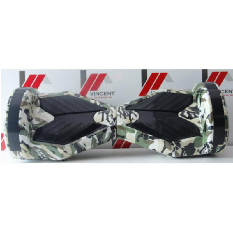 Mua Xe tự cân bằng 8 inch bản cao cấp xanh đen ngụy trang -AL