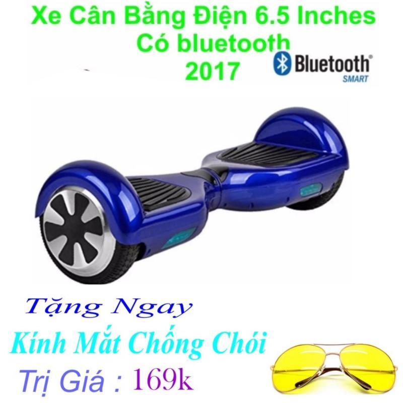 Mua Xe Tự cân bằng điện 6.5 inches Có bluetooth 2017(Xanh) Tặng Ngay Kính Chống Chói Trị Giá 169k