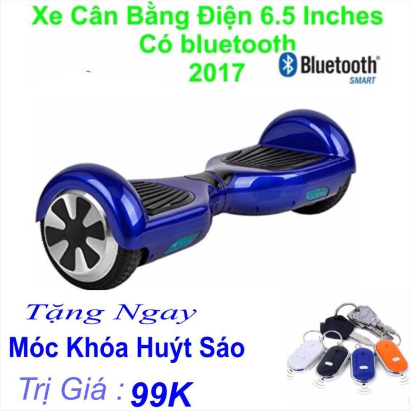 Mua Xe Tự cân bằng điện 6.5 inches Có bluetooth 2017(Xanh) Tặng Ngay Móc Khá Huýt Sáo Trị Giá 99k