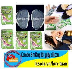 Combo 8 lót giày silicon