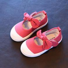 Giày bé gái có nơ RS026 (Hồng)