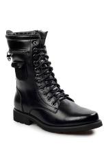 Giày boots cổ cao Glado GB79 (Màu đen)