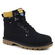 Giày bốt da lộn thời trang Zapas - GB090 (Màu Đen)