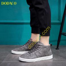 Giày Bốt Nam Cổ Ngắn Thời Trang DODACO DDC3021 (Kaki)
