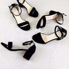 Giày cao gót nữ 5 phân - đế vuông- vẻ đẹp dịu dàng