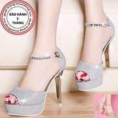 Giày cao gót quai đá Korea - LN922