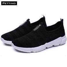 Giày Lười Nam Thời Trang - Pettino GL20 (đen) - Đế Siêu Nhẹ Đứng Đầu Xu Thế