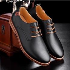 Giày Nam Công Sở Thời Trang Dt1403 (Đen)