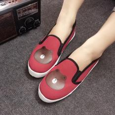 Giày Slip On Bé Gái CS1409 (Đỏ)